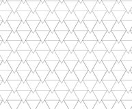 Pattern of triangle lines contained with different sizes of tria Stock Image