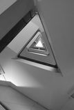 Pattern of triangle stair Stock Image