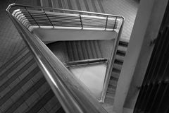 Pattern of triangle stair Stock Photo