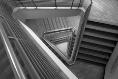 Pattern of triangle stair Royalty Free Stock Image