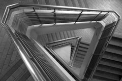 Pattern of triangle stair Royalty Free Stock Photo
