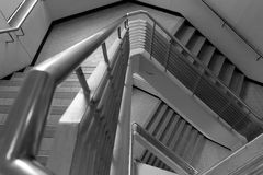 Pattern of triangle stair Royalty Free Stock Images