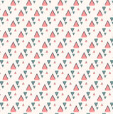 Pattern With Triangle. Vector EPS of Pattern With Triangle Royalty Free Stock Photos