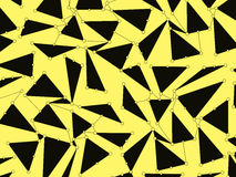 Pattern with triangles. Abstract background. For advertising, design, website, postcard and presentation Royalty Free Stock Photos
