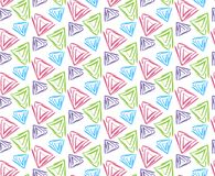 Pattern with triangles illustration. Seamless pattern with triangles illustration Royalty Free Stock Image