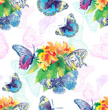 Summer pattern Royalty Free Stock Photography