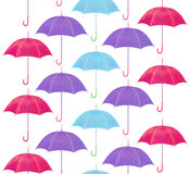 Pattern of umbrellas Royalty Free Stock Photography