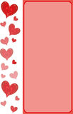 Pattern for Valentine's Day Royalty Free Stock Image