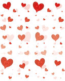 Pattern for Valentine's Day Stock Photos
