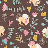Pattern Valentines Day Royalty Free Stock Image