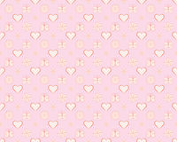 Pattern for Valentines Day Stock Photography