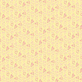 Pattern for Valentines Day Card royalty free stock photography