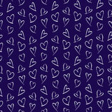 Pattern for Valentines Day Card Stock Images