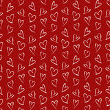 Pattern for Valentines Day Stock Image