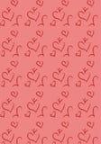 Pattern Valentines Stock Image