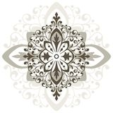 Pattern vector. Ornamental design, digital artwork, decoration element royalty free illustration