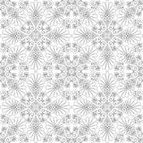 Pattern vector. Ornamental design, digital artwork royalty free illustration