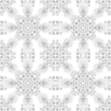 Pattern vector. Ornamental design, digital artwork stock illustration