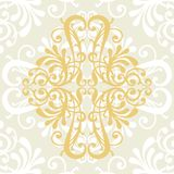 Pattern vector. Ornamental design, digital artwork, background royalty free illustration