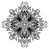 Pattern vector. Ornamental design, digital artwork vector illustration