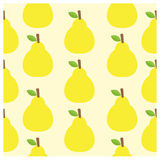Pattern vector background Cute fruit color Look delicious Round- Royalty Free Stock Photography