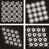 Pattern Vector black 1 Stock Photos