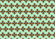 Pattern001. The vector of pattern on green Royalty Free Stock Photos