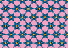 Pattern001. The vector of pattern on pink Stock Images