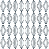 Vector seamless abstract pattern. With striped ellipse royalty free illustration