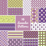 Pattern vector set Stock Photography