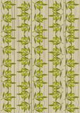 The pattern of vegetables on a wooden background. Veg background Royalty Free Illustration