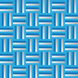 Pattern with vertical and horizontal lines in blue and pearl grey colors Stock Photography