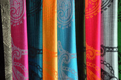 Silk Vietnamese scarf background Stock Image
