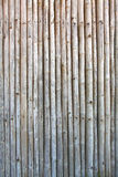 Pattern of vintage bamboo panel Royalty Free Stock Photography
