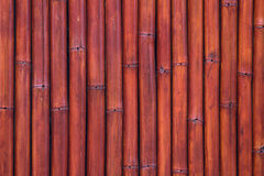 Pattern of vintage bamboo panel Stock Photography
