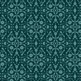 Pattern with vintage floral ornament Royalty Free Stock Image