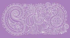 Pattern violet Royalty Free Stock Photo