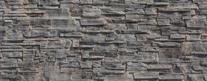 Pattern wall from decorative stones Royalty Free Stock Photos