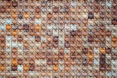 Pattern wall tiles background Royalty Free Stock Photography