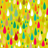 Pattern with water or paint drops Royalty Free Stock Images