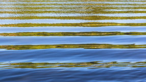 Pattern of water with waves Stock Photography