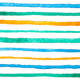 Pattern with watercolor strips Stock Photo