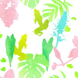 The pattern of the watercolor. Royalty Free Stock Images