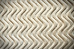 Pattern of wave from old sandal Royalty Free Stock Image