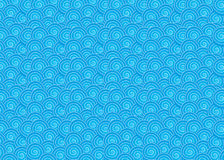 Pattern with waves Royalty Free Stock Photography