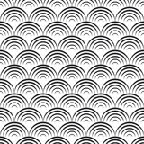 Pattern with waves Stock Image
