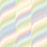 Pattern with waves and stripes Stock Photos