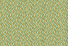 Pattern with wavy lines Stock Photography
