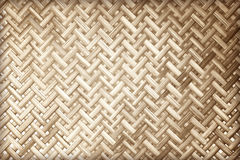 Pattern of weave made from bamboo texture. Background Stock Photography