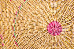 Pattern of weave mat Royalty Free Stock Image